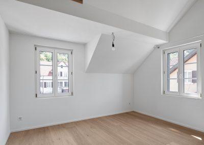 Wohnbereich mit Parkettboden