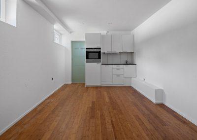 Studio mit offener Küche